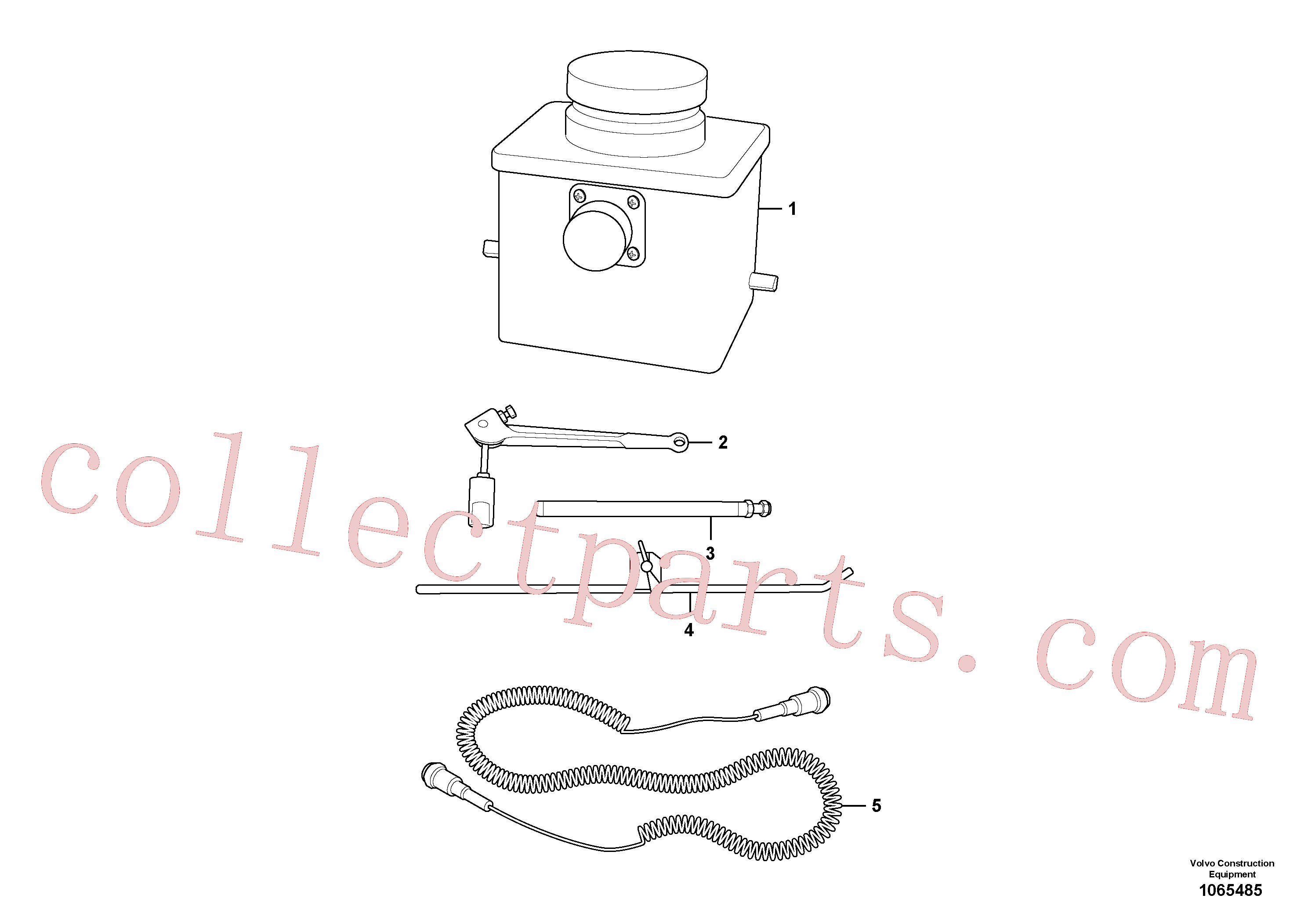 RM13913058 for Volvo Digital Grade Sensor(1065485 assembly)