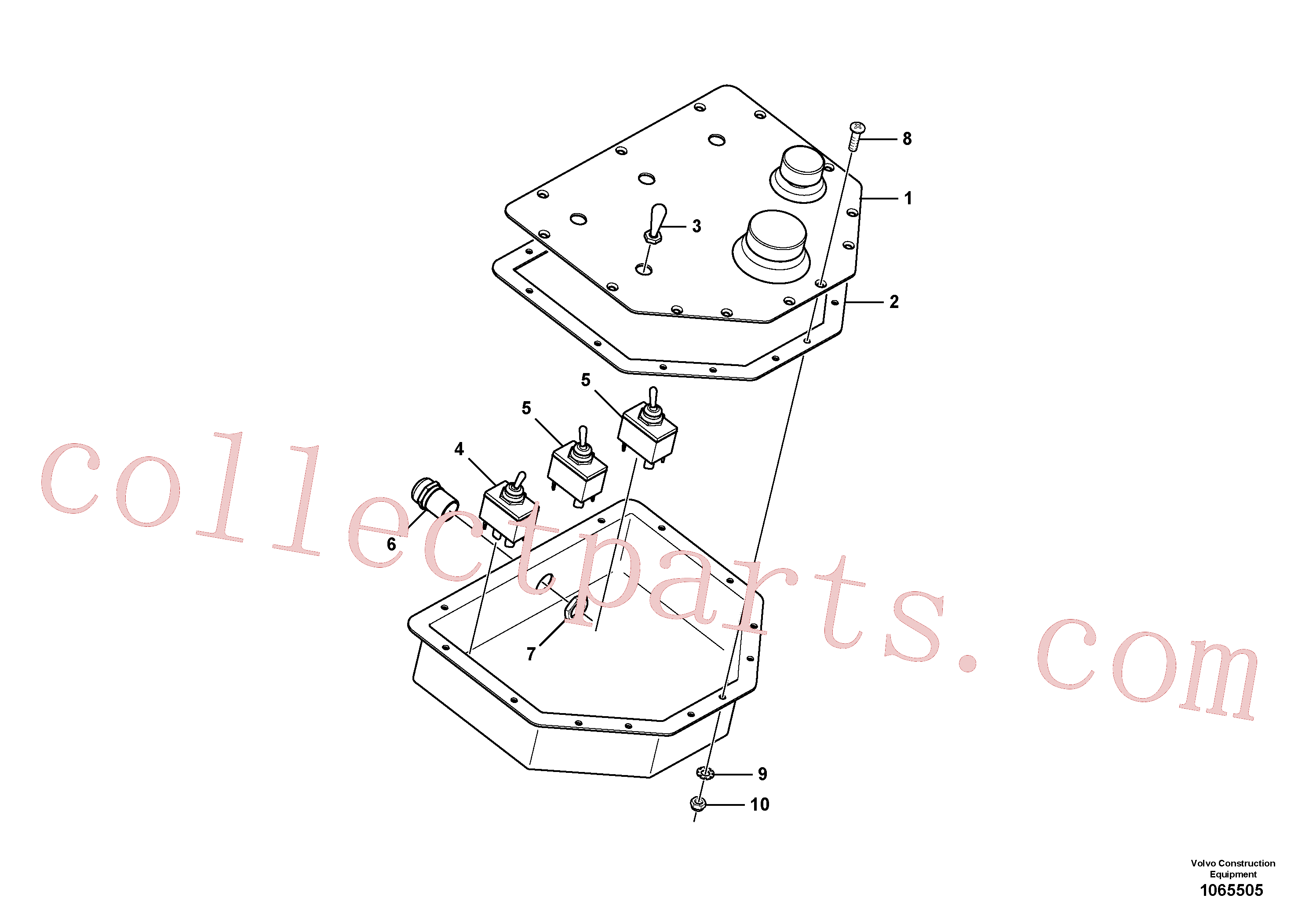RM87970083 for Volvo Alternate Control Board(1065505 assembly)