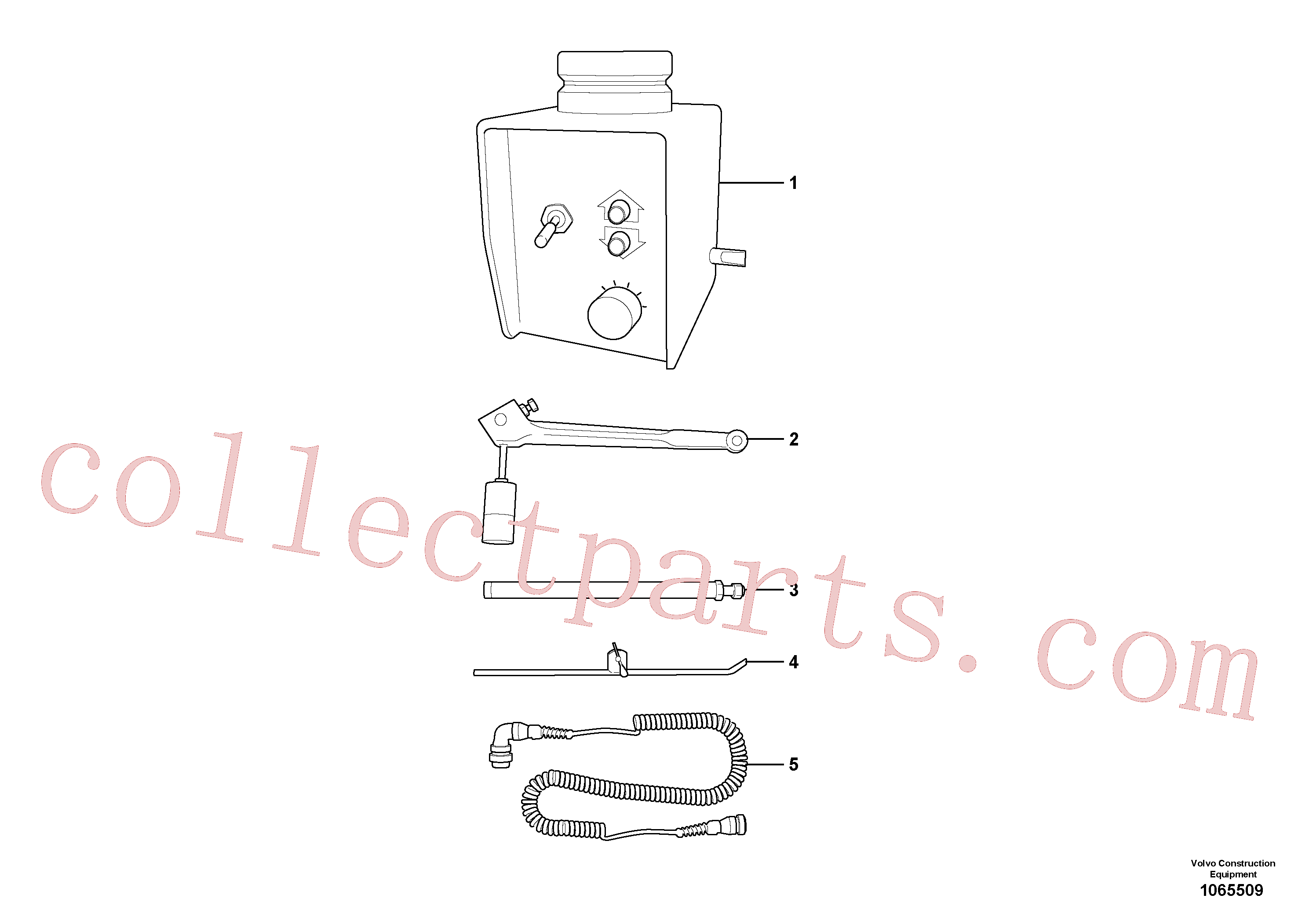 RM13913058 for Volvo Grade Control Sensor, Analog Grade Sensor(1065509 assembly)