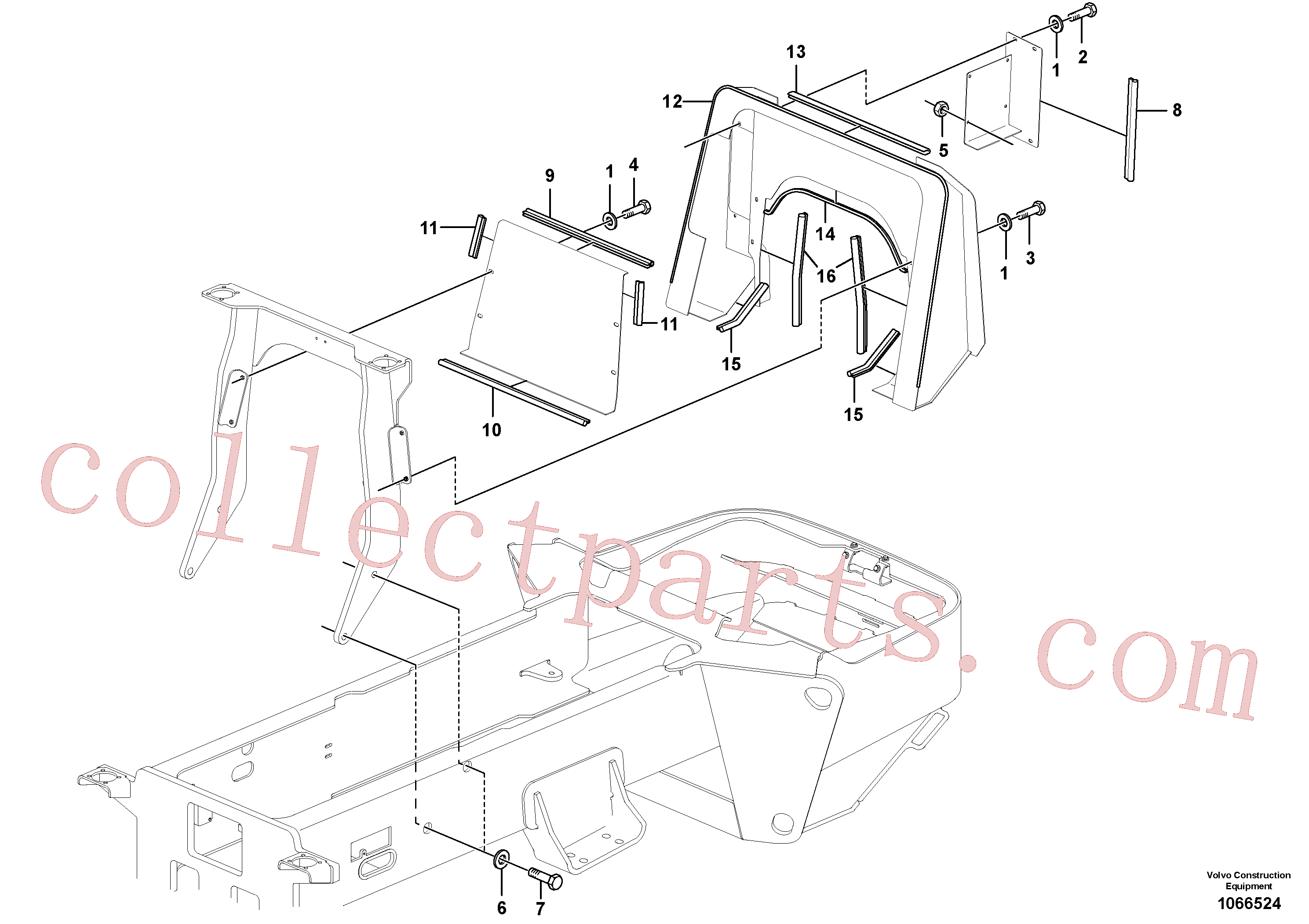 RM96738646 for Volvo Operator's Platform(1066524 assembly)
