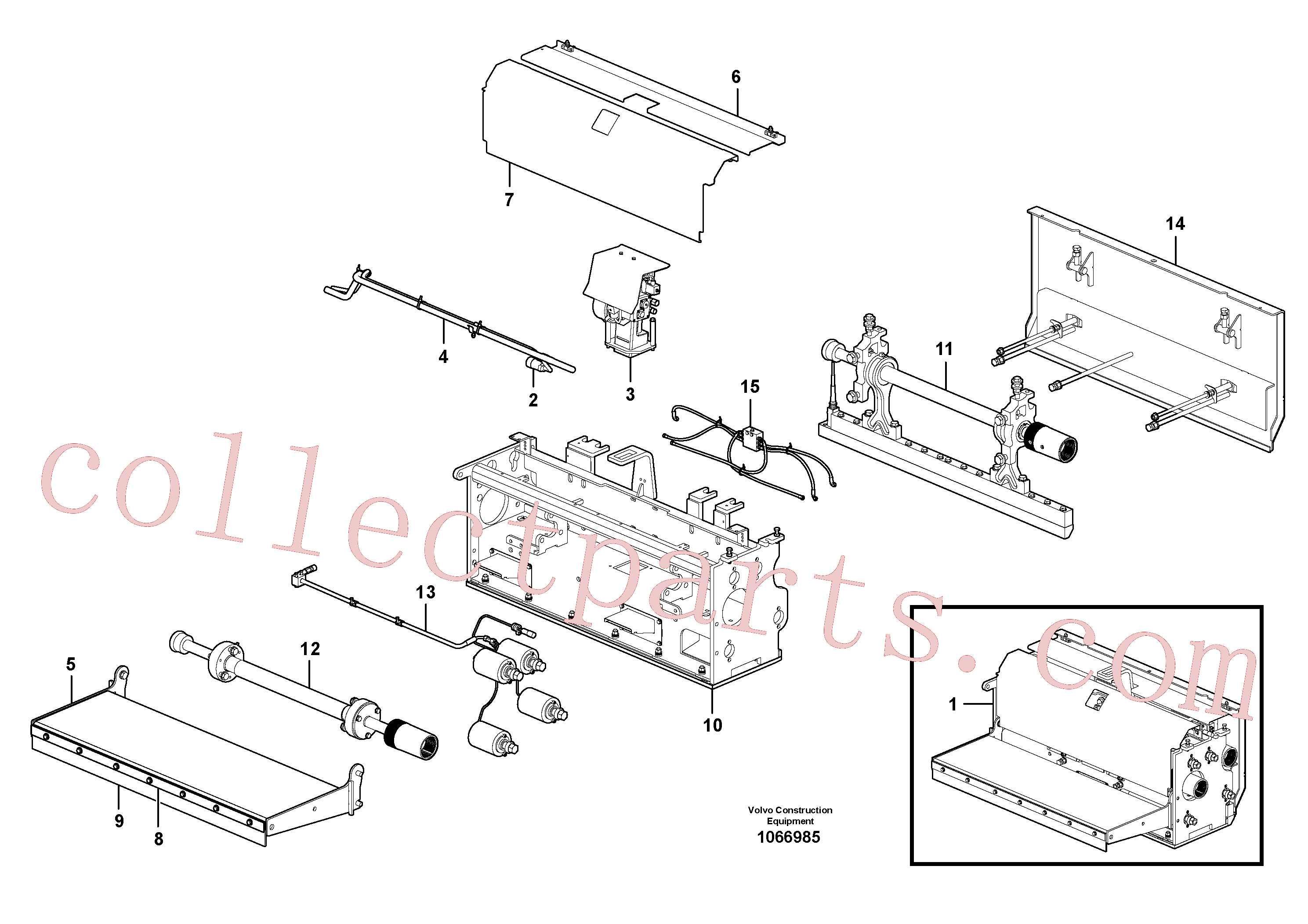 RM80765019 for Volvo Extension(1066985 assembly)