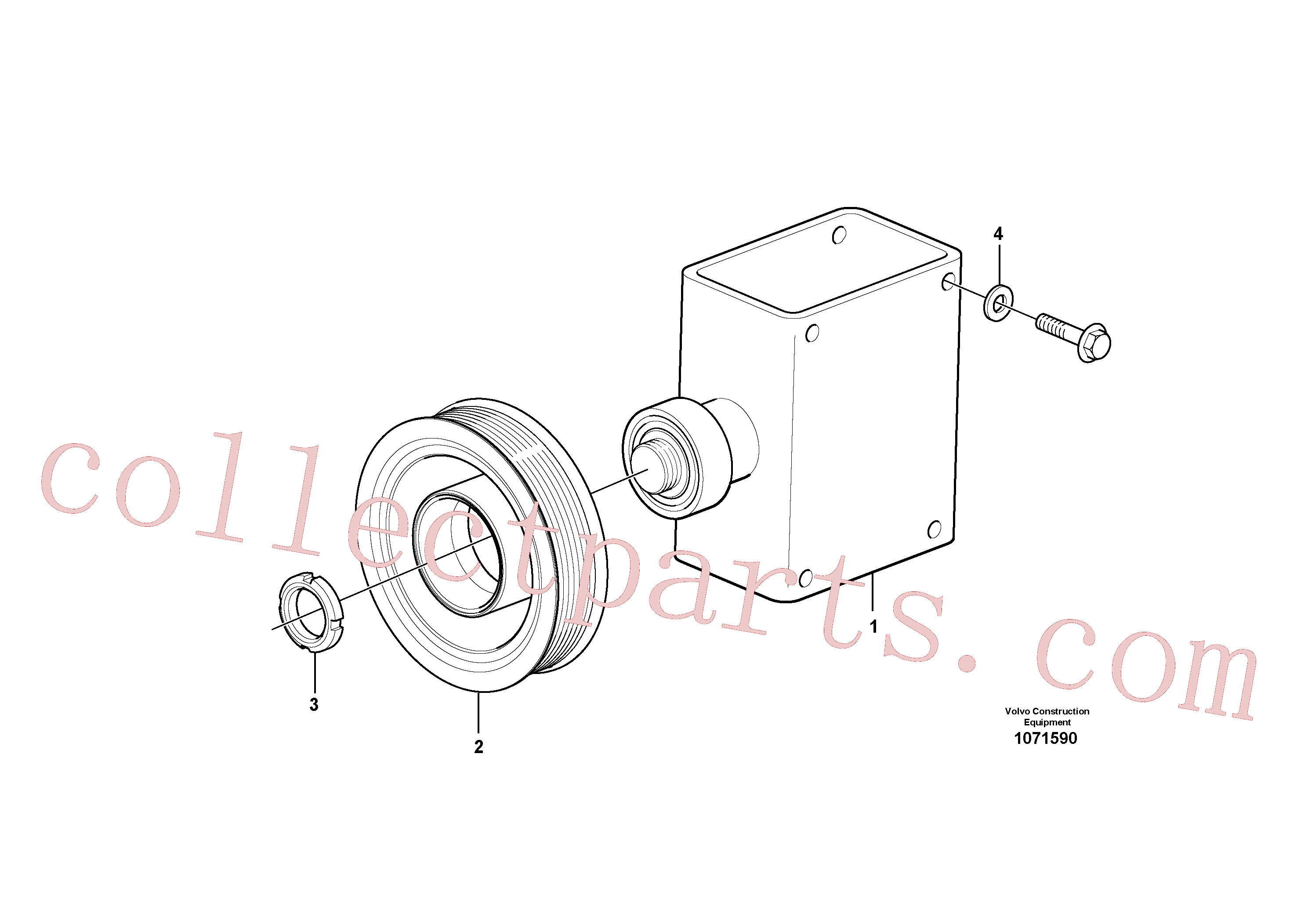 ZM7094911 for Volvo Belt transmission(1071590 assembly)