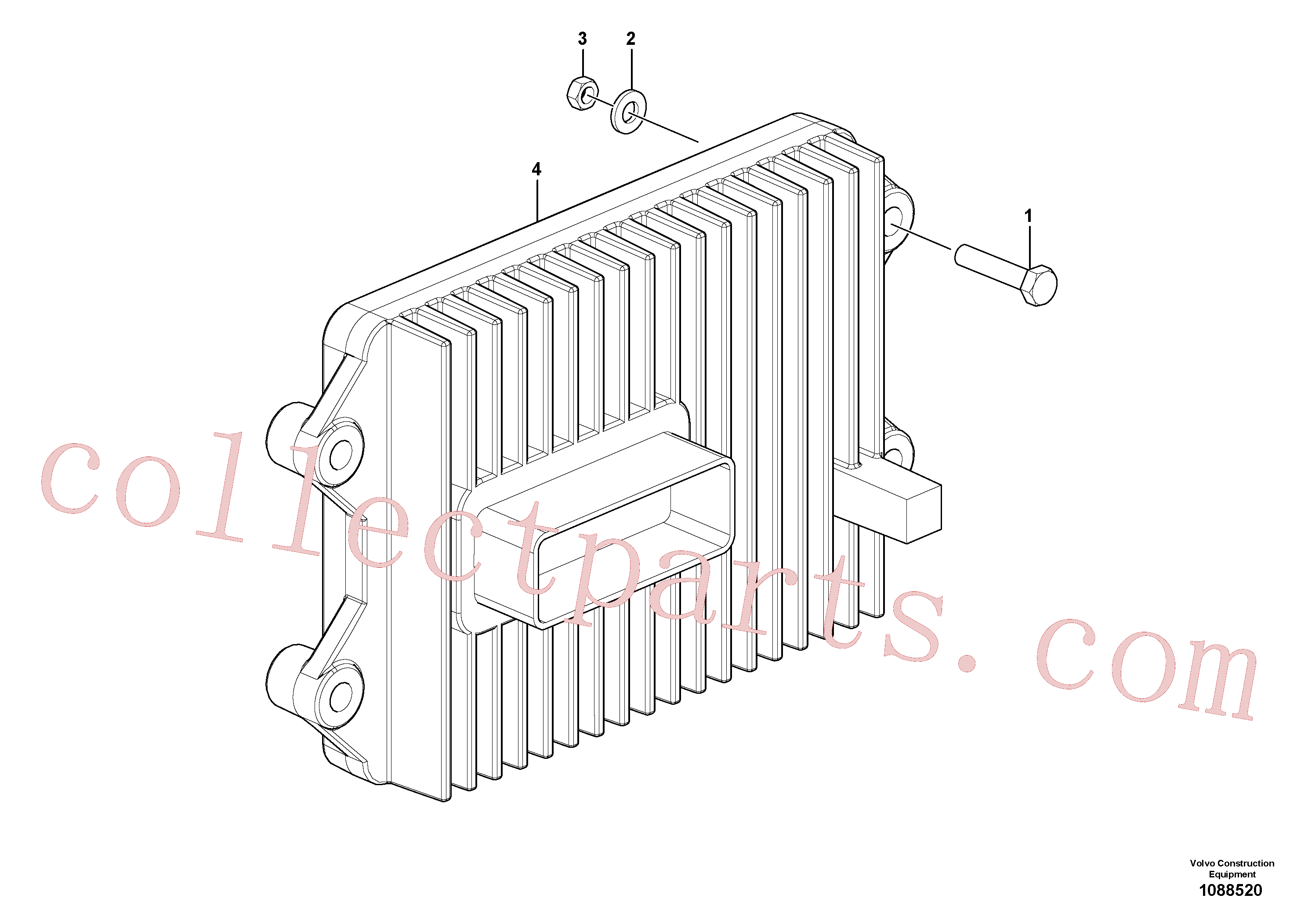 VOE17455311 for Volvo ACM(1088520 assembly)
