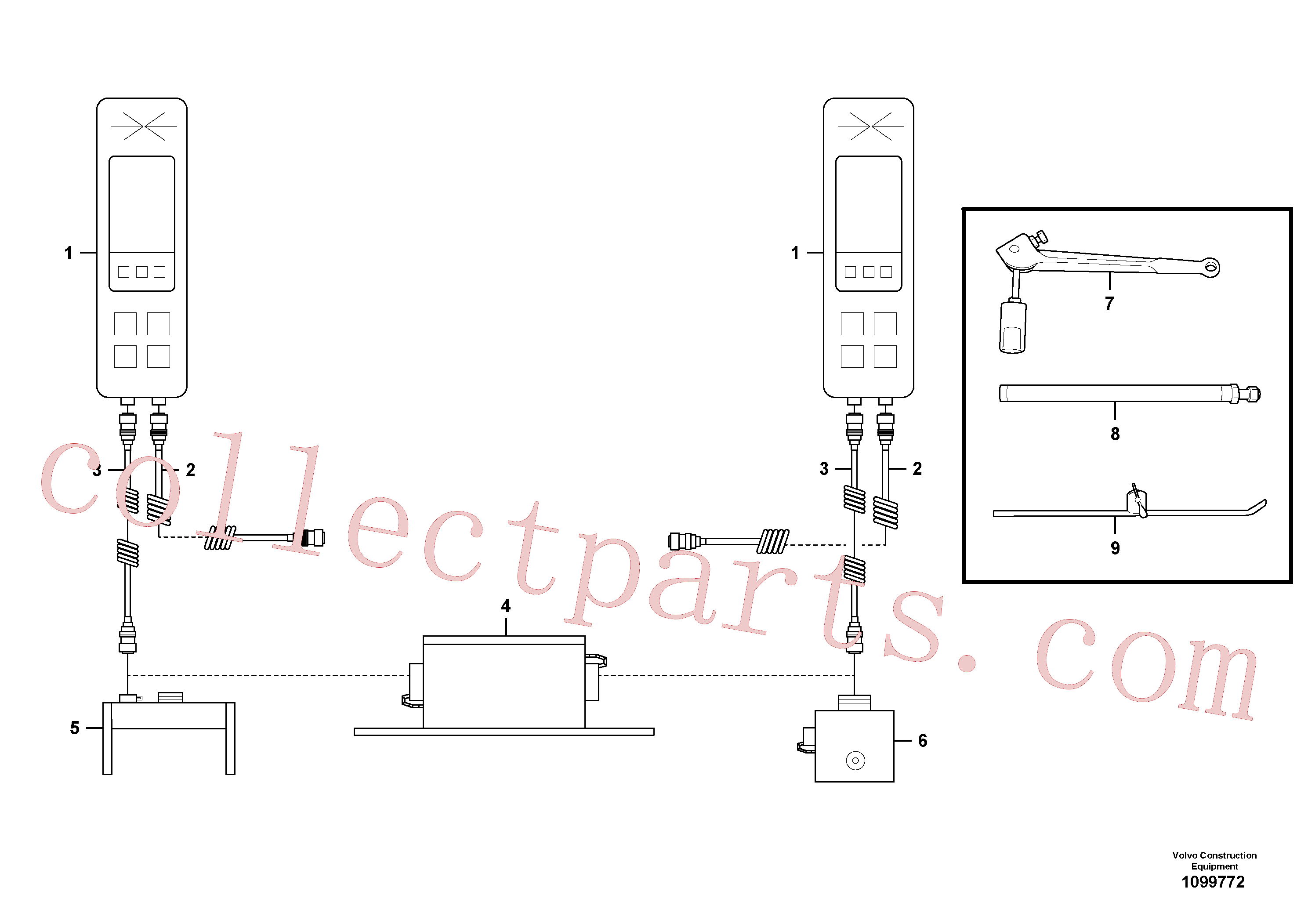 RM13913058 for Volvo Levelling Kit(1099772 assembly)