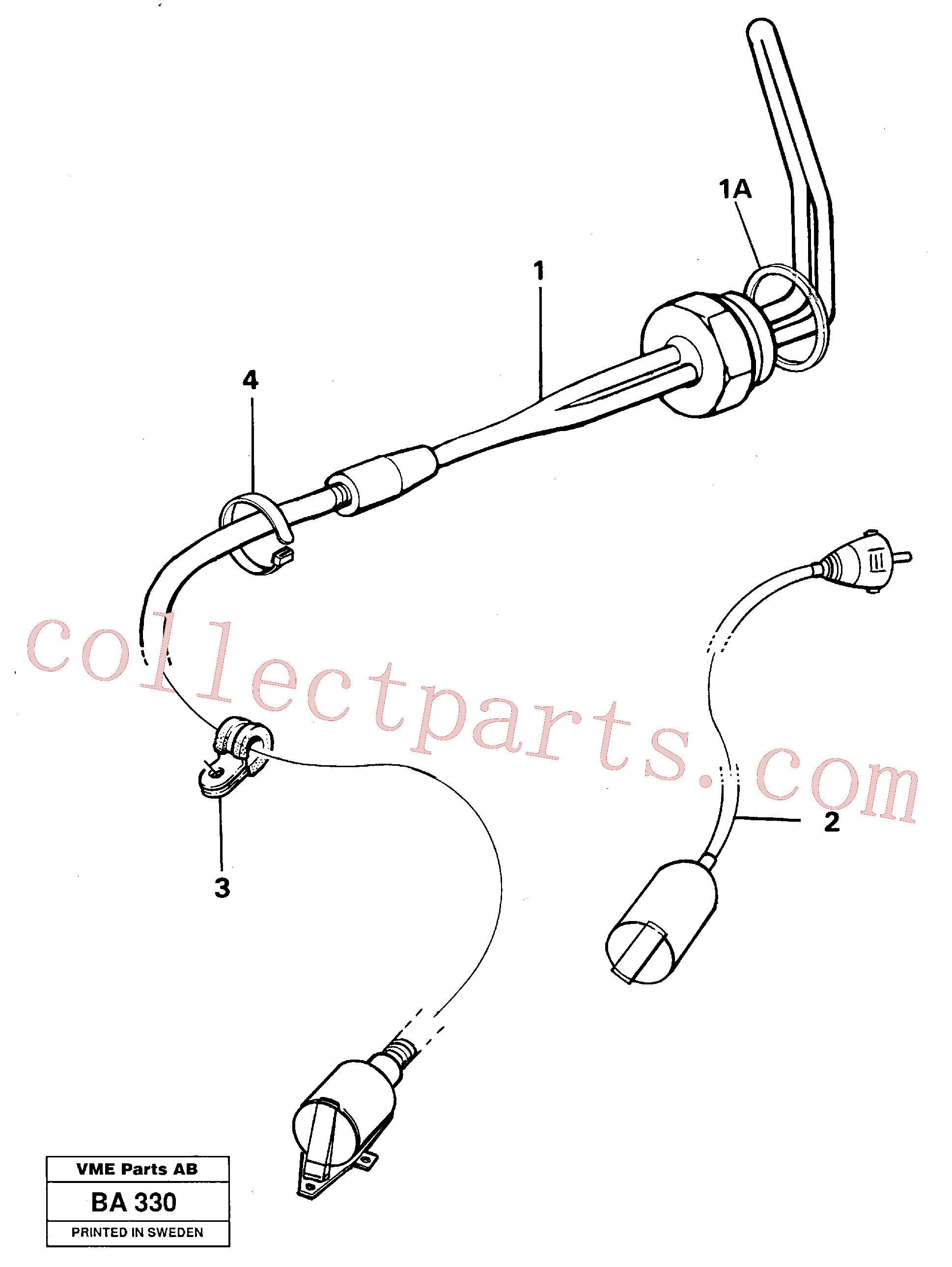 VOE4804421 for Volvo Engine heater(BA330 assembly)