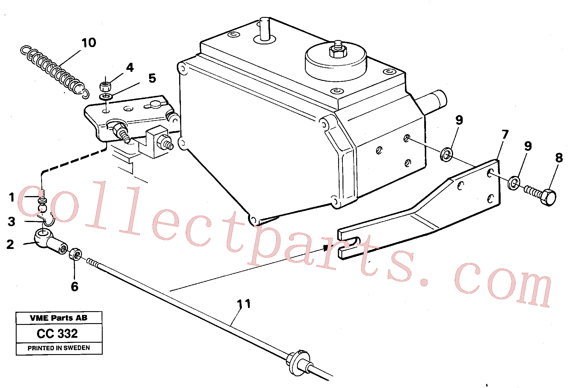 VOE14213018 for Volvo Regulator control(CC332 assembly)
