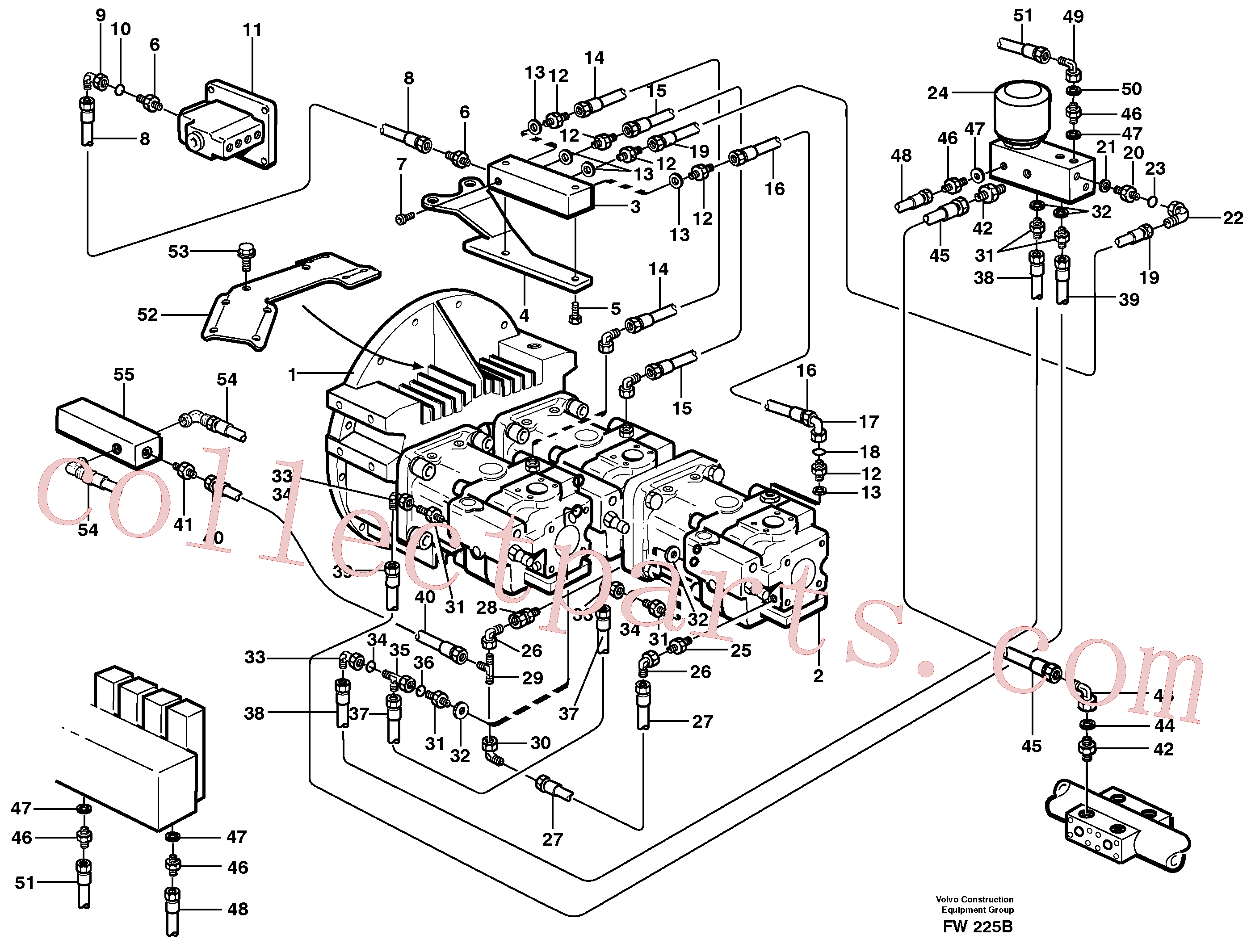 VOE14257548 for Volvo Pump control(FW225B assembly)