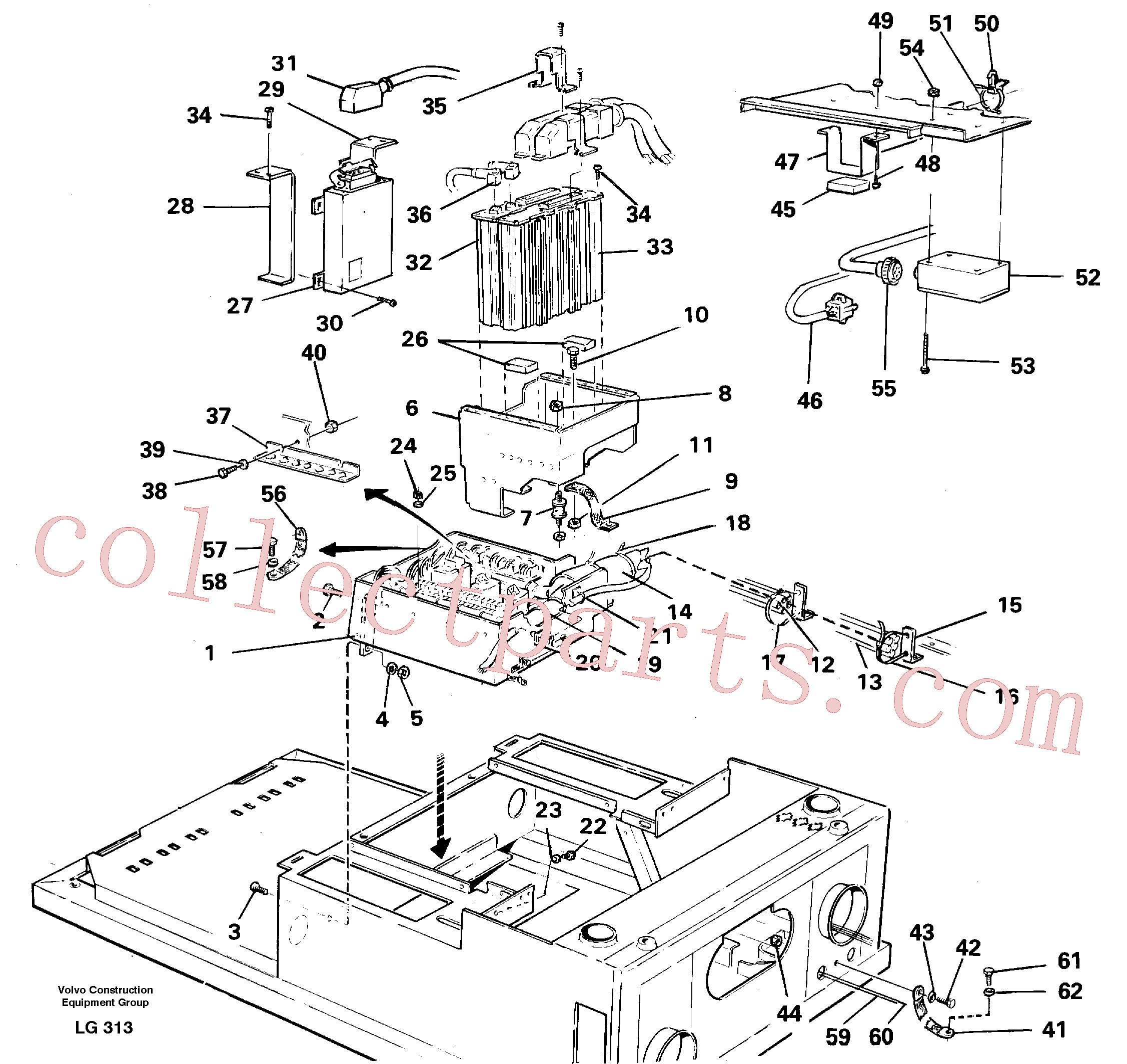 VOE14252722 for Volvo Electric installation on driver's seat(LG313 assembly)