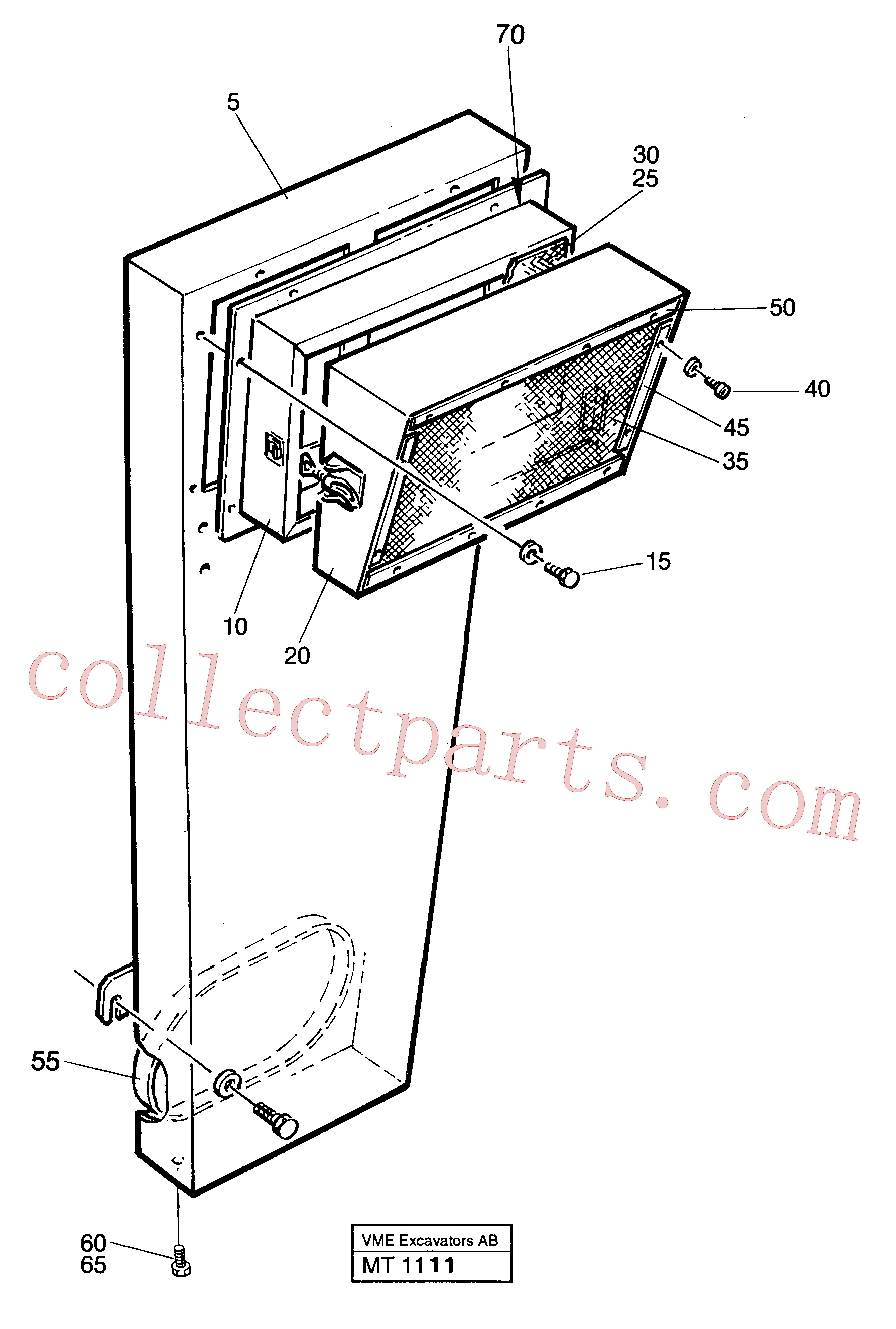 VOE14254583 for Volvo Air inlet(MT1111 assembly)