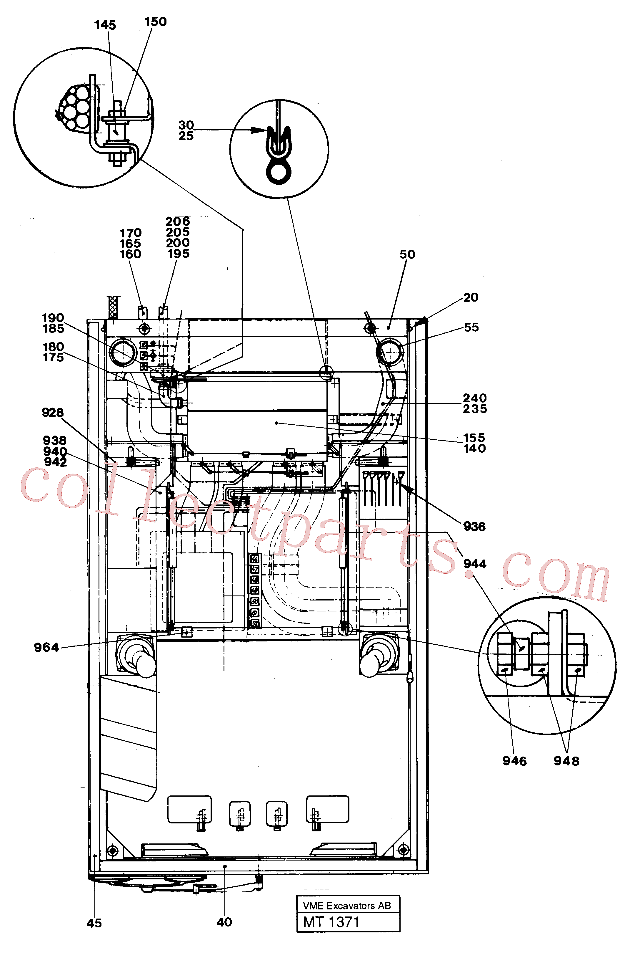 VOE14230015 for Volvo Driver's seat(MT1371 assembly)